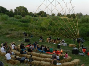 Cotignola - Arena delle balle - La golena dei Poeti sul Senio