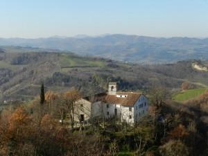 La chiesa di Monte Mauro