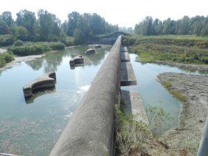 Rubiera (RE) - Manufatto regolatore delle casse di espansione del fiume Secchia