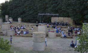 Cotignola - L'Arena delle balle di paglia